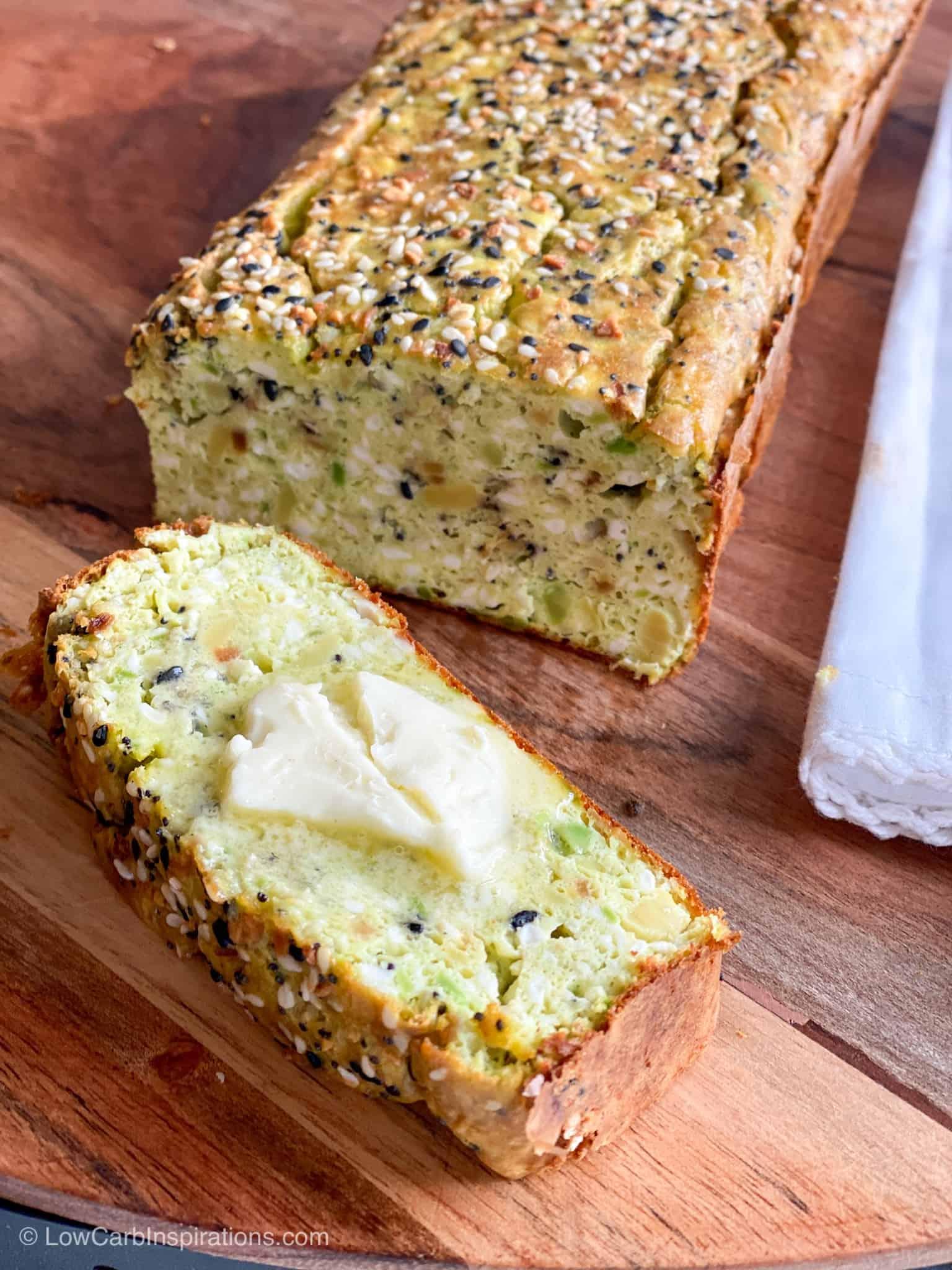 4 Ingredient Keto Avocado Bread Recipe
