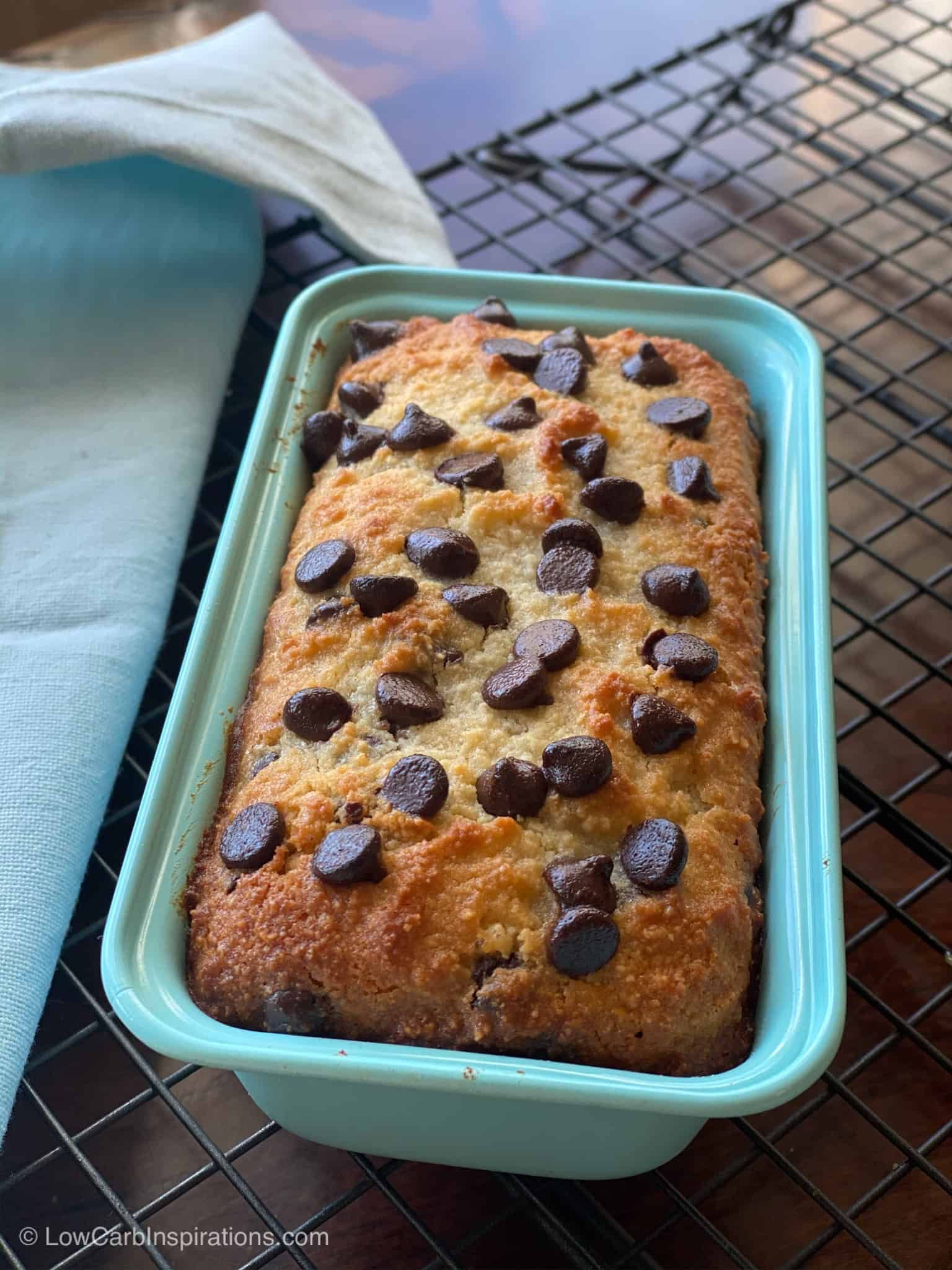 Keto Chocolate Chip Bread Recipe