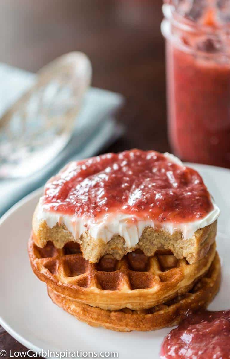 Keto Rhubarb Chia Seed Jam Recipe