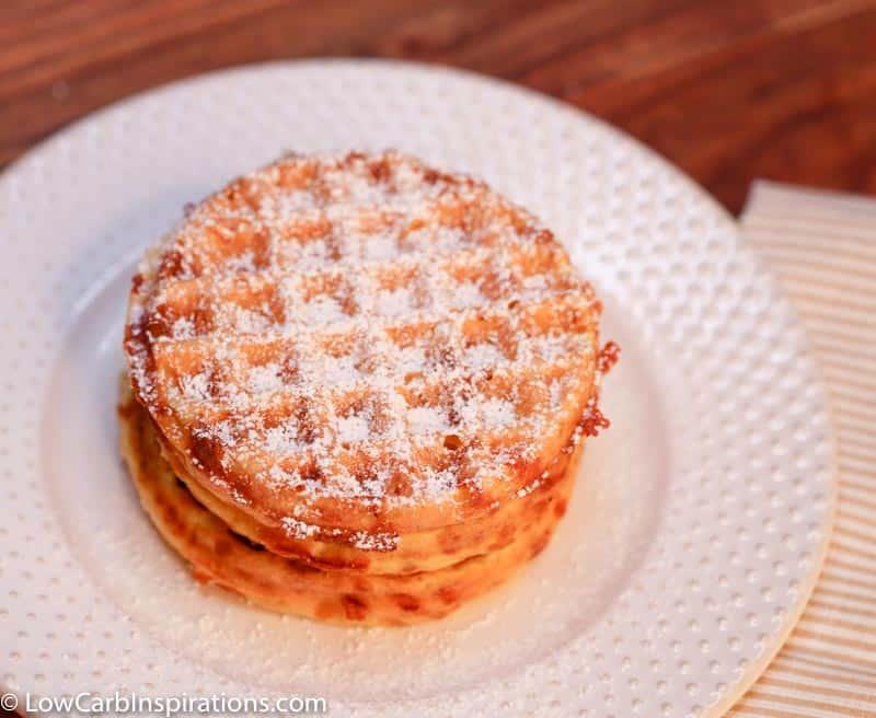 Keto Sweet Bread Chaffle Recipe