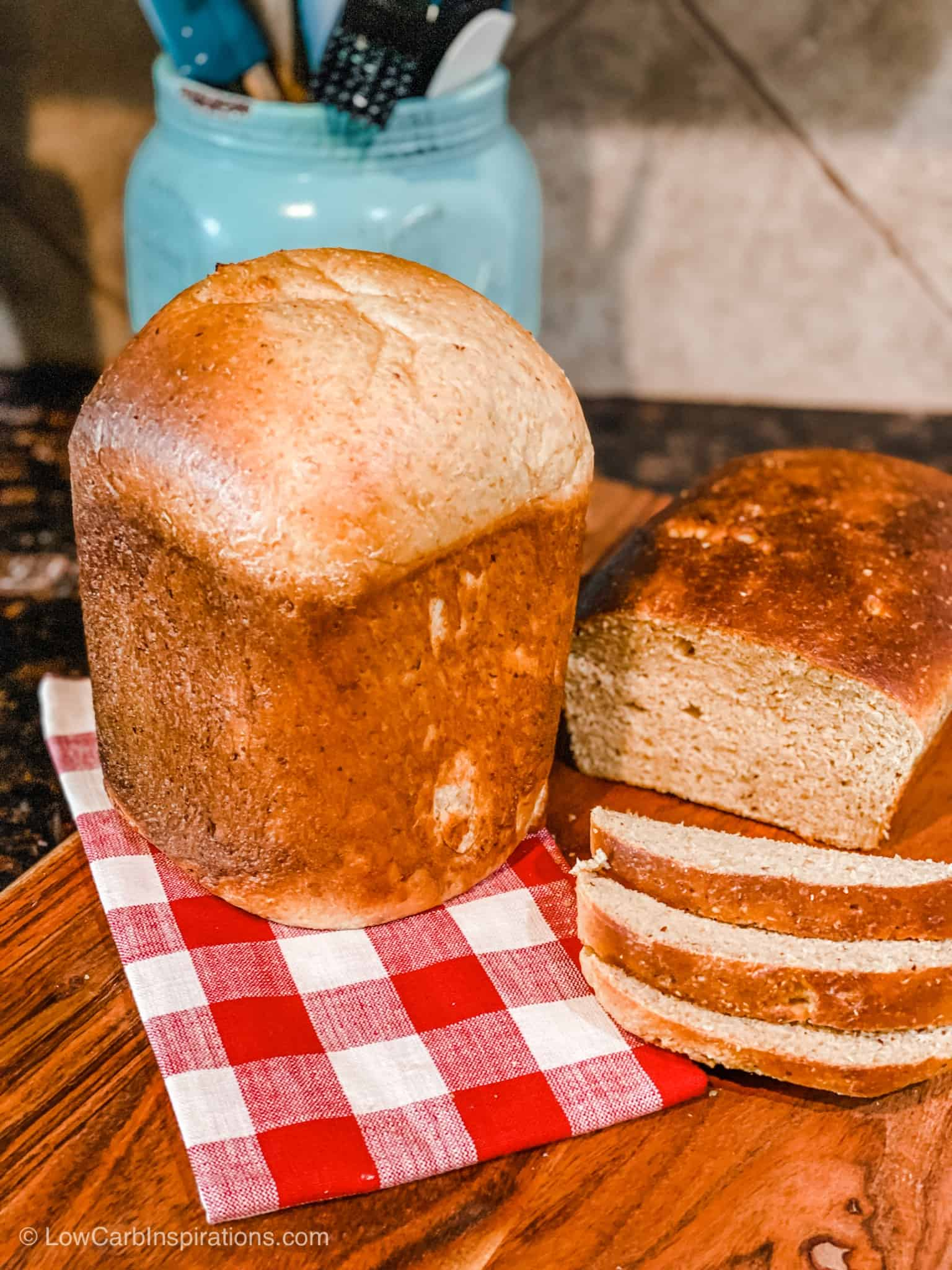 Deidre's Low Carb Bread Recipe made KETO FRIENDLY!