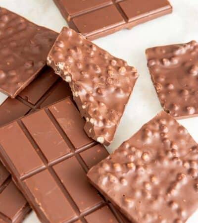 Keto Chocolate Crunch Candy Bar Recipe