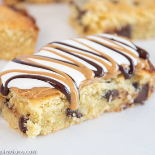 Keto Fluffernutter Cookie Bars Recipe