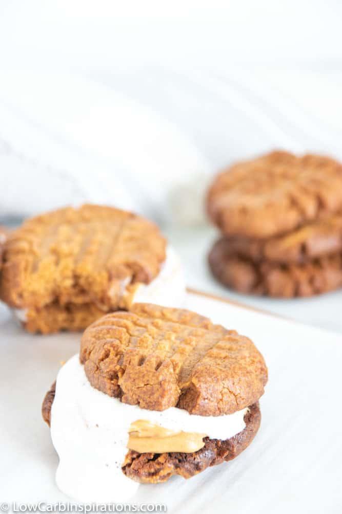 Keto Fluffernutter Cookies Recipe