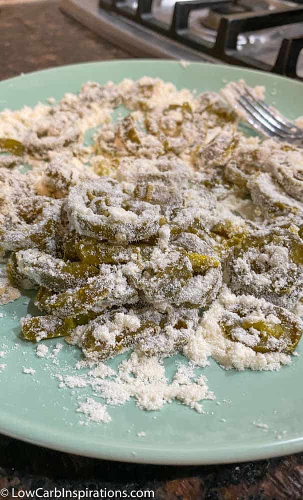 Keto Friendly Deep Fried Jalapeños Recipe