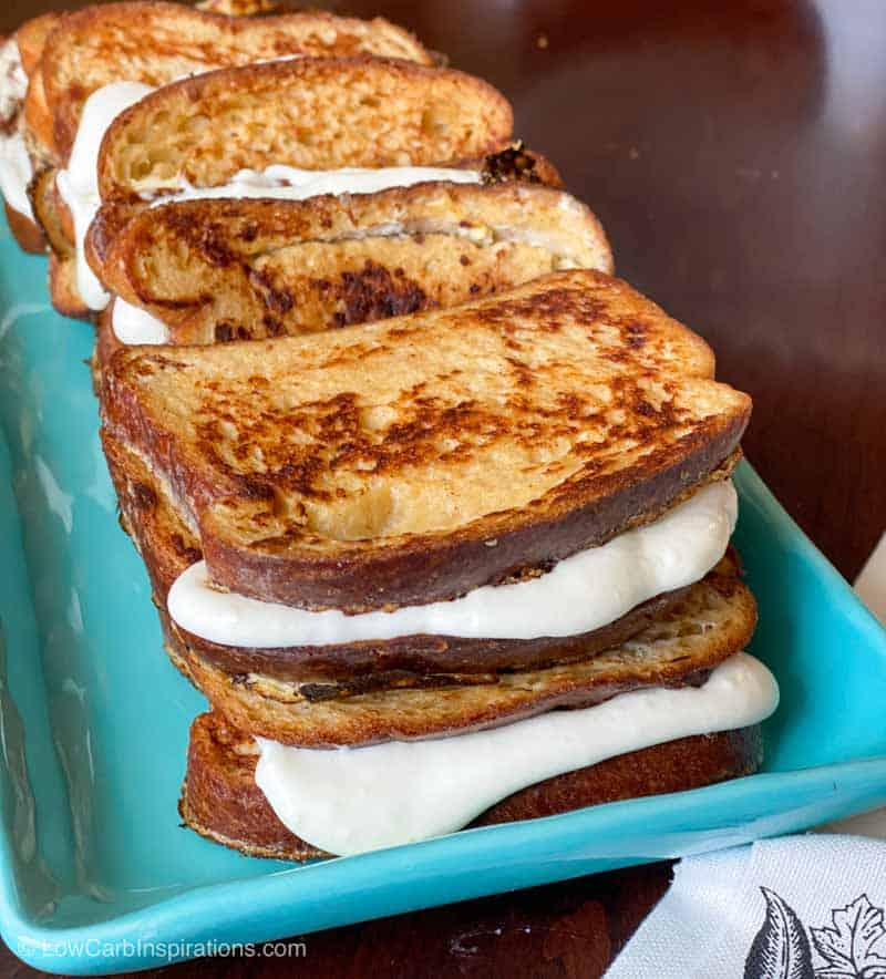 Low Carb Stuffed French Toast Recipe