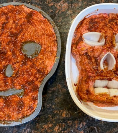 Halloween Skull Meatloaf Recipe