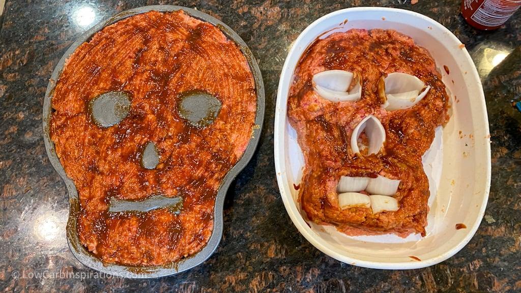 Halloween Skull Meatloaf Recipe
