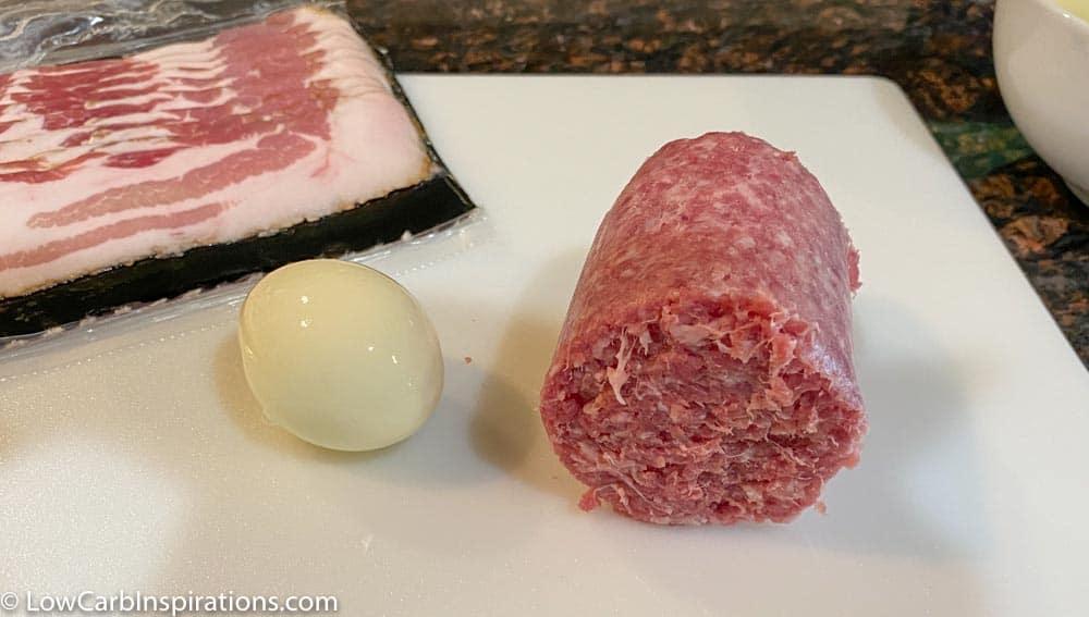 How to Make Bacon Wrapped Keto Scotch Eggs