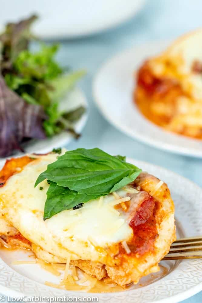 Keto Chicken Parmesan Casserole Recipe