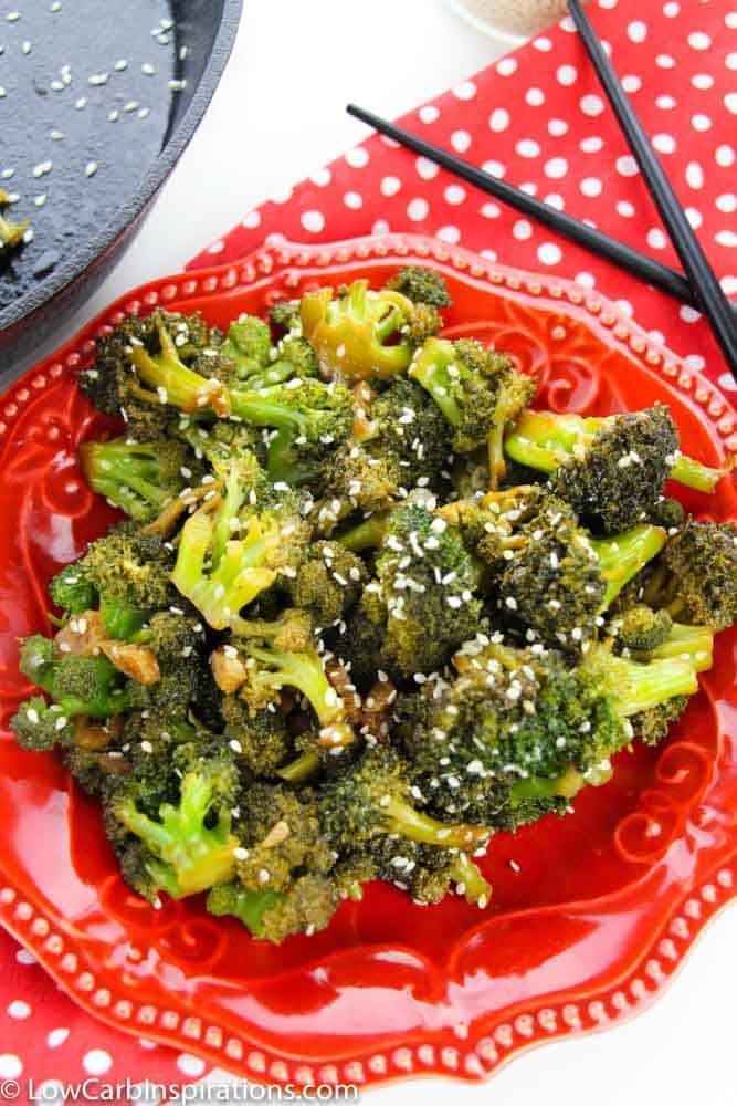 Asian Style Broccoli Recipe