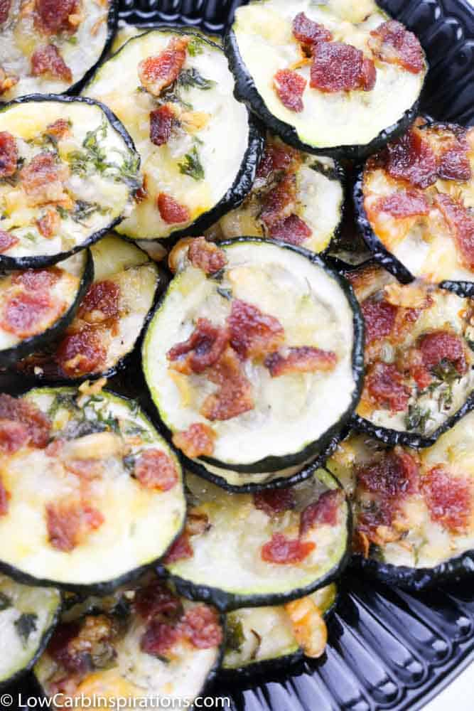 Bacon Ranch Parmesan Zucchini Chips Recipe