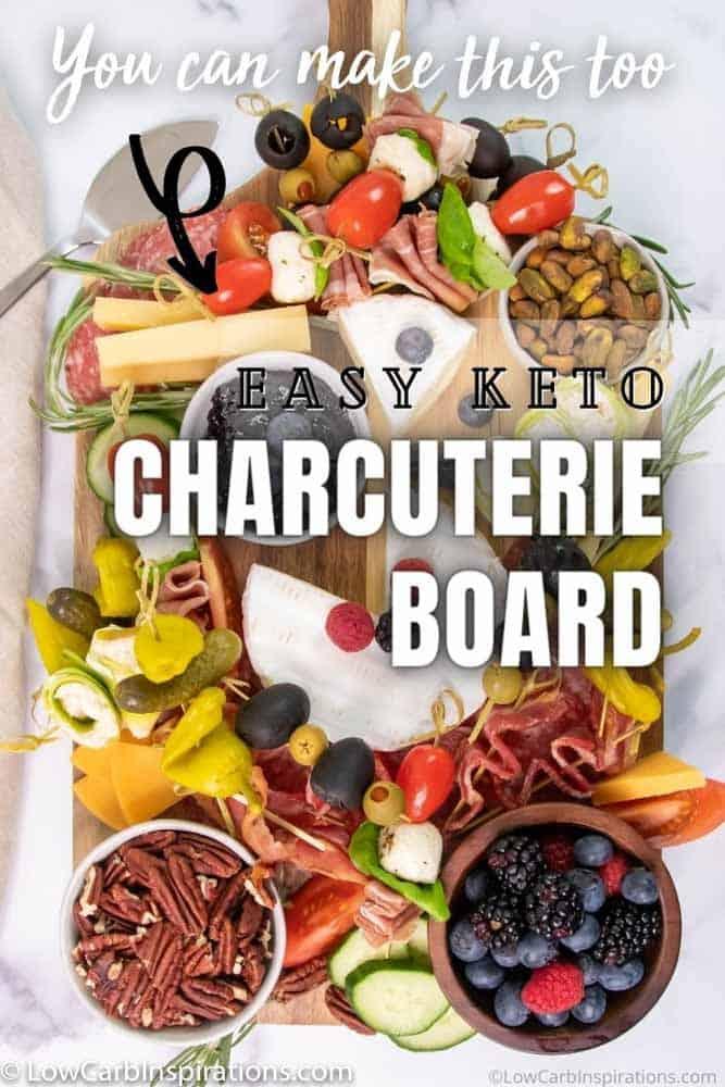 Easy Keto Charcuterie Board
