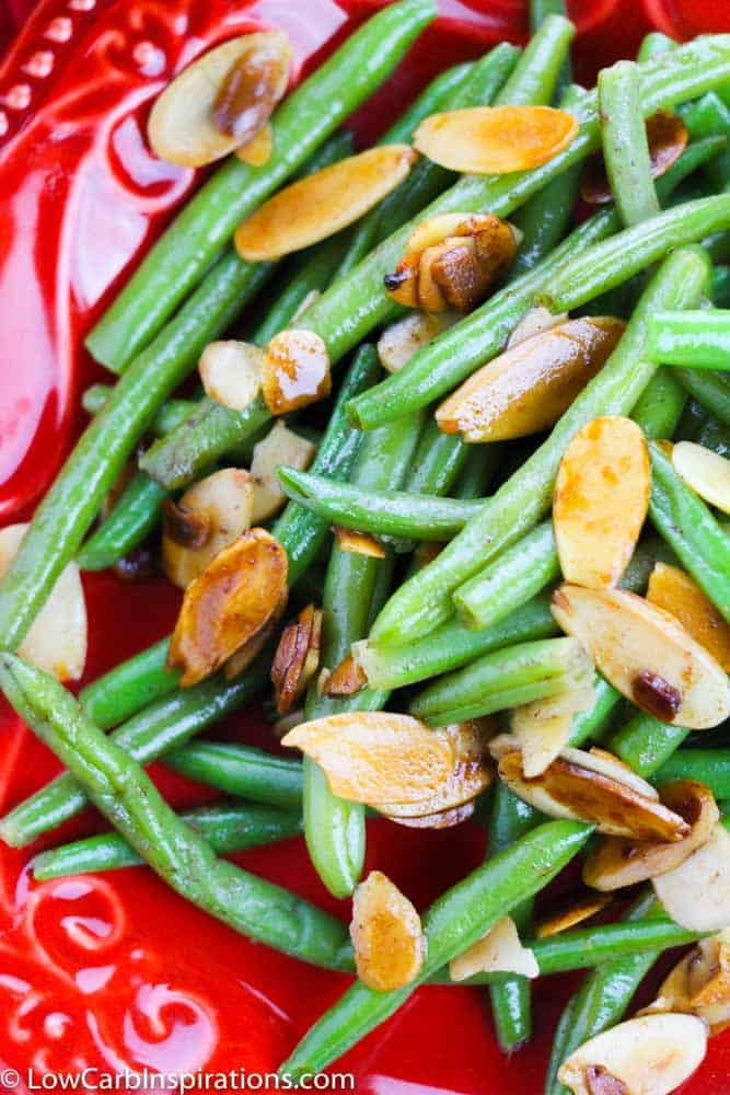 Green Beans Almondine Recipe