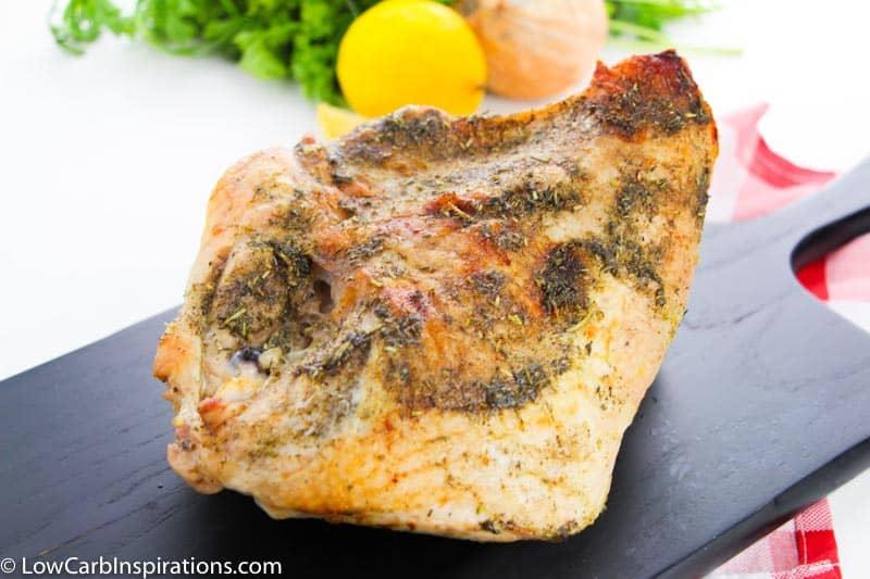 Keto Oven Roasted Turkey Breast Recipe