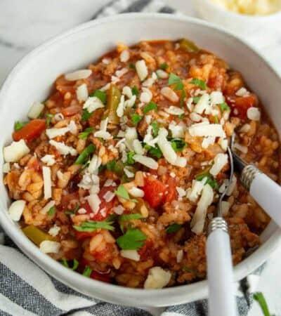 Keto Stuffed Pepper Soup Recipe