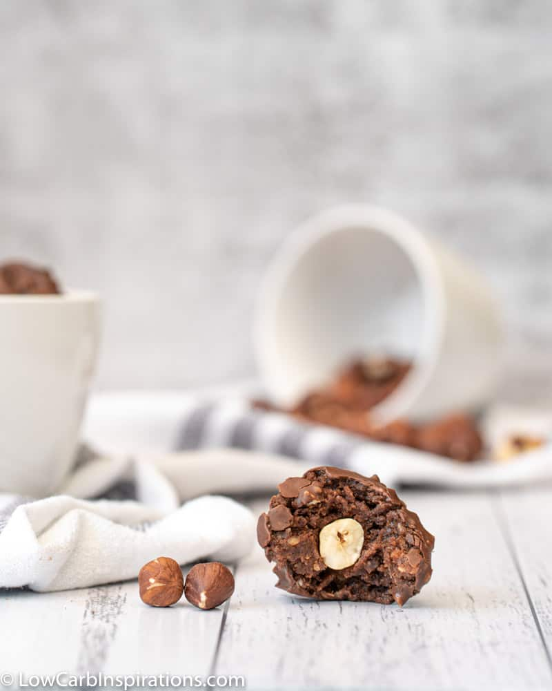 Keto Homemade Ferrero Rocher Balls Recipe