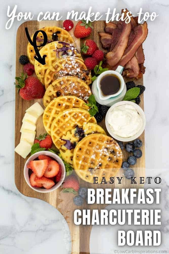 Keto Breakfast Charcuterie Board