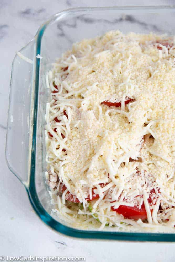 Keto Cheesy Zucchini Casserole Recipe
