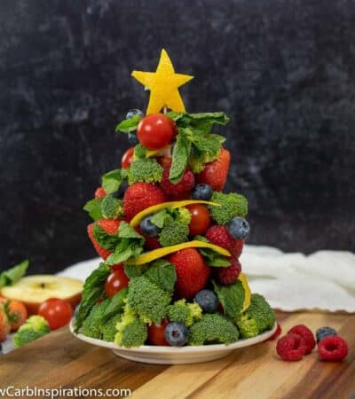 Keto Fruit Christmas Tree