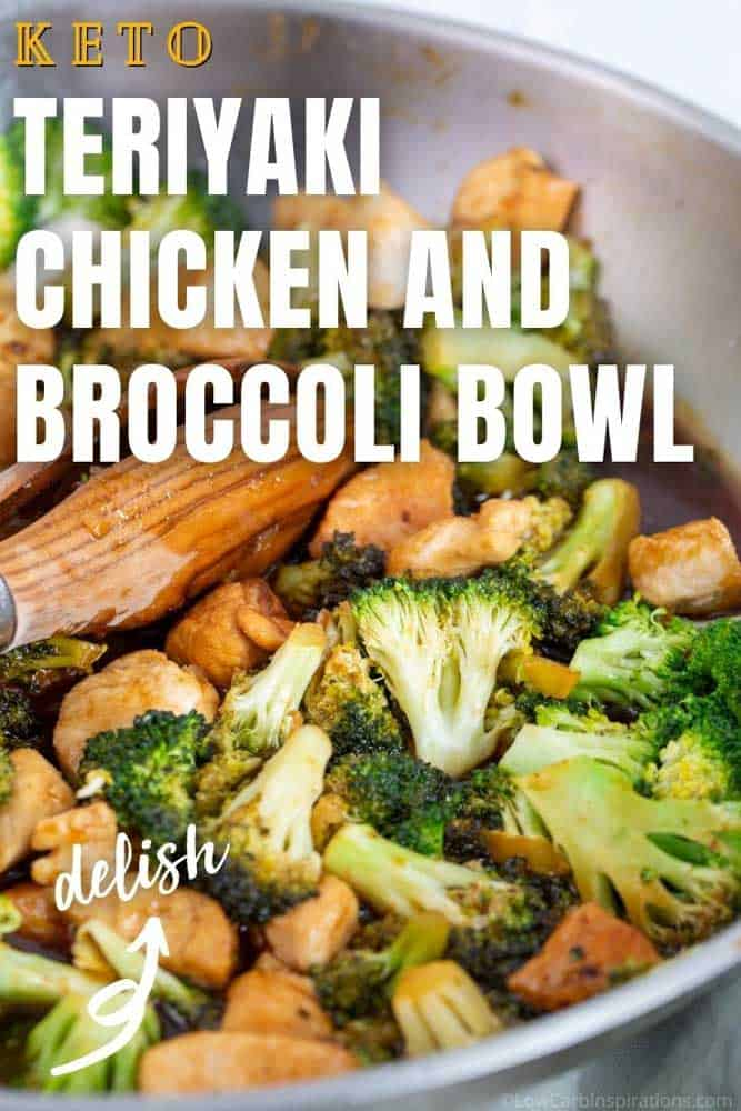 Keto Teriyaki Chicken and Broccoli Bowl Recipe