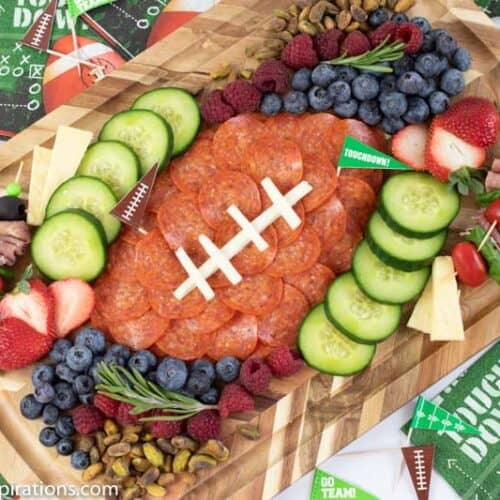 Game Day Charcuterie Board