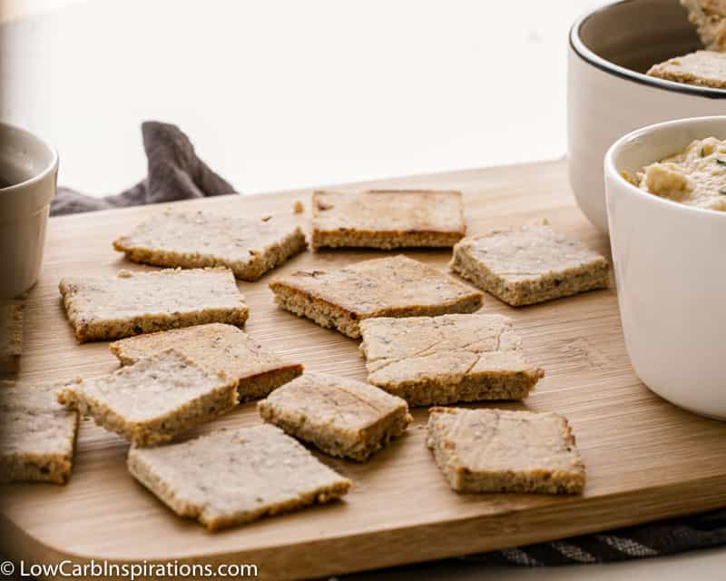 Homemade Almond Flour Crackers Recipe