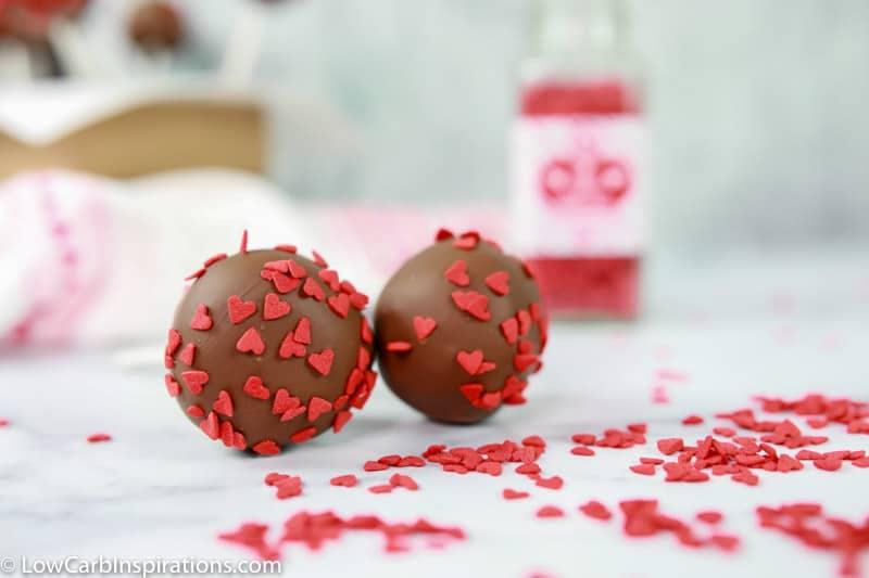 Keto Chocolate Cake Pops Recipe