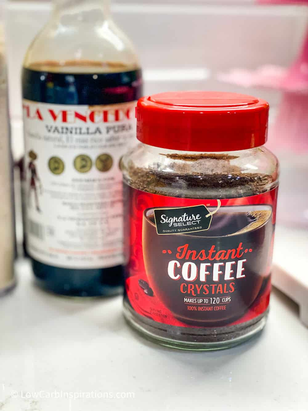 Instant Coffee and Mexican Vanilla