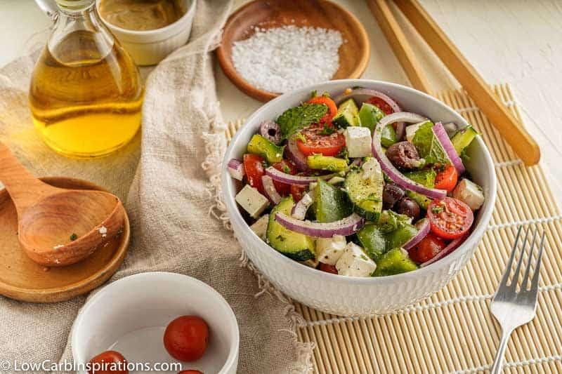Traditional Greek Salad Recipe