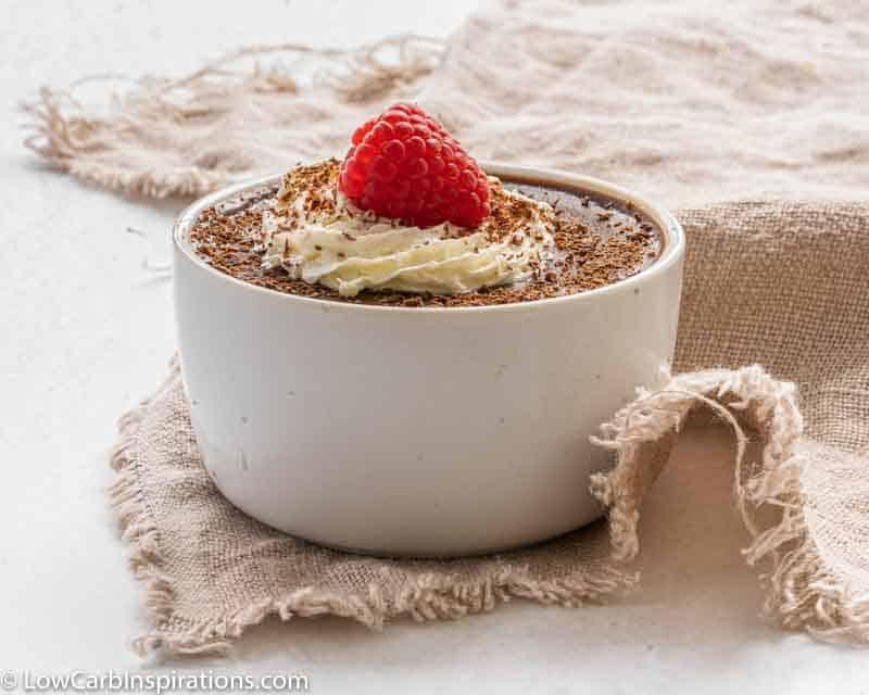 Keto Friendly Chocolate Panna Cotta Recipe
