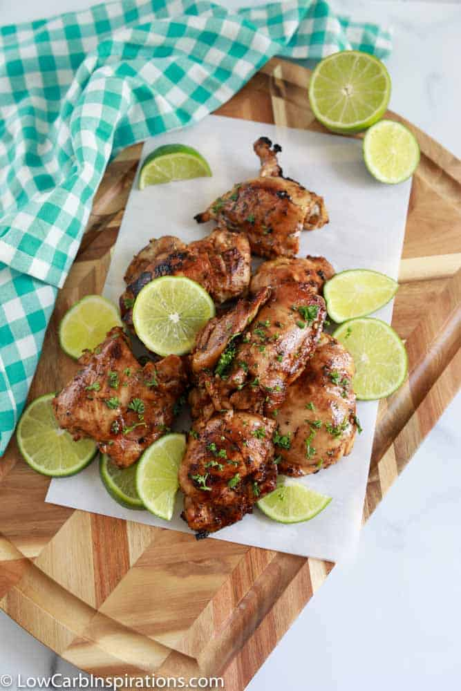 Grilled Balsamic Chicken Thighs Recipe