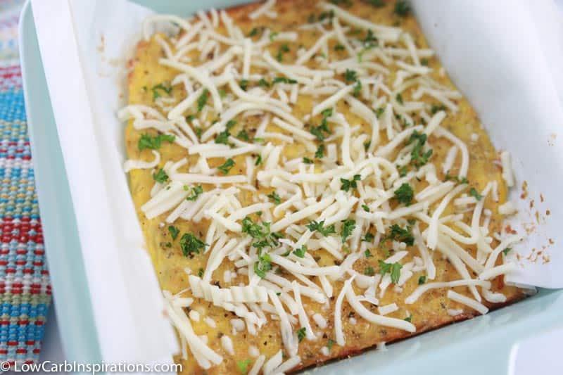 Keto Garlic Cheese Bread Recipe