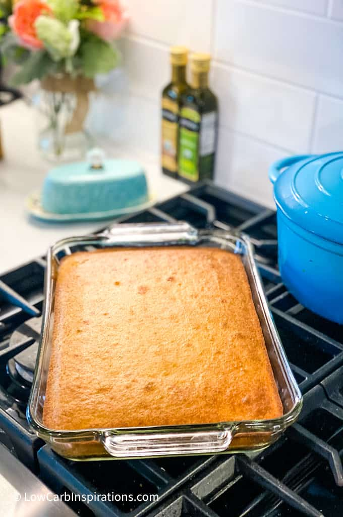 Keto Poke Cake Recipe
