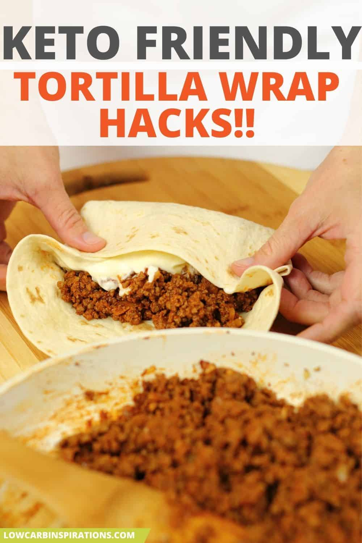 Keto Tortilla Wrap Hack from TikTok!