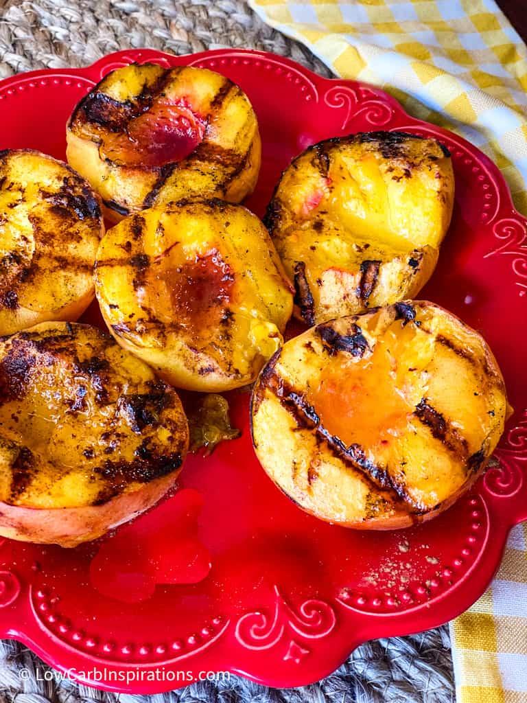 Best Grilled Peaches Recipe