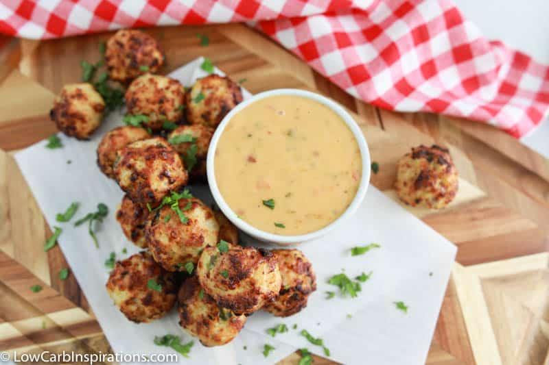 Chicken Bacon Jalapeno Popper Meatballs Recipe