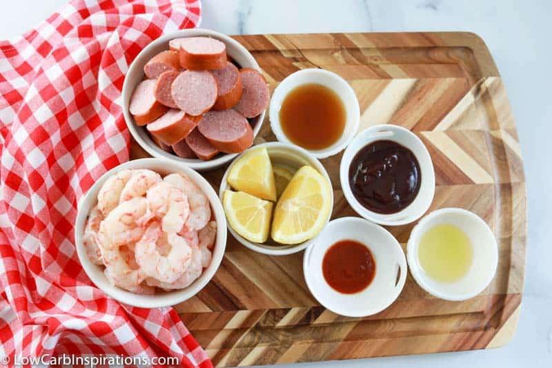 Easy BBQ Sausage and Shrimp Kabobs Recipe