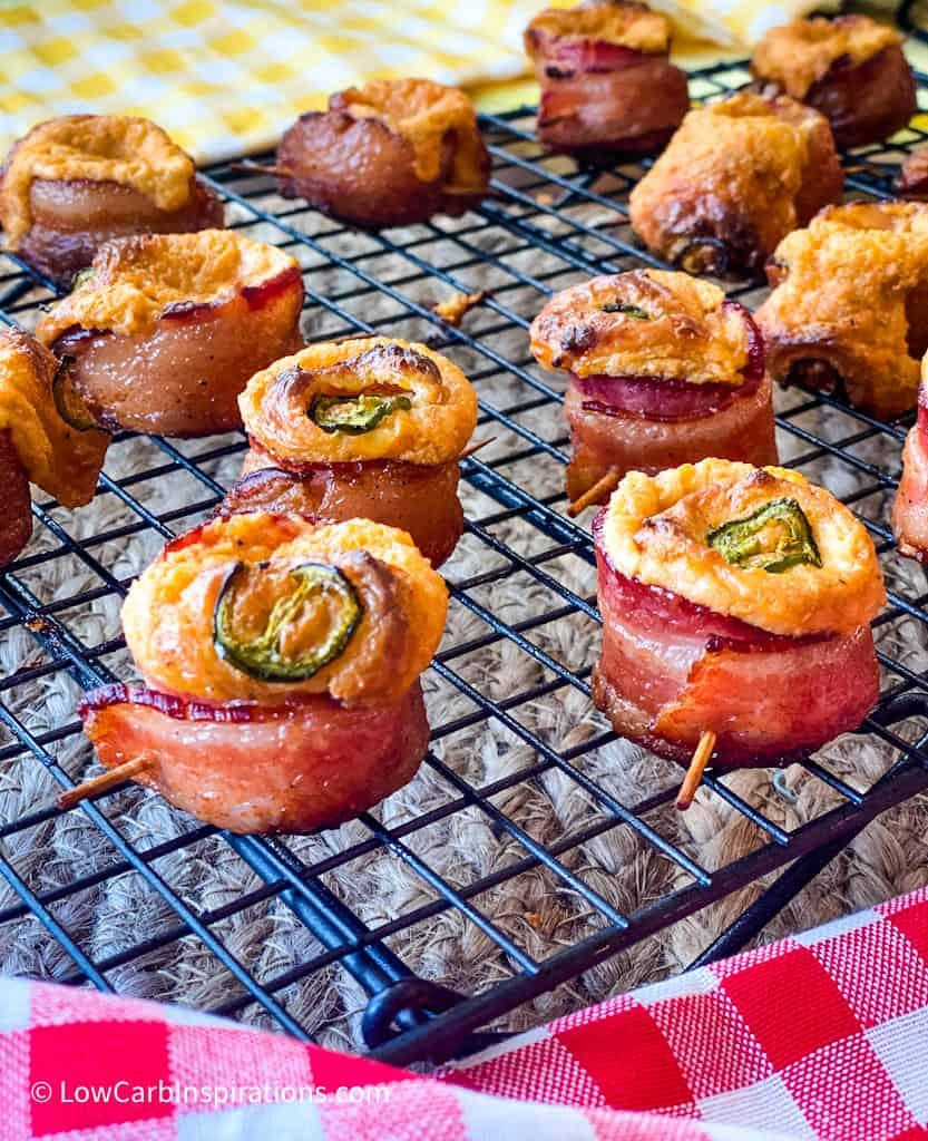 Smoked Jalapeno Popper Bacon Shots Recipe