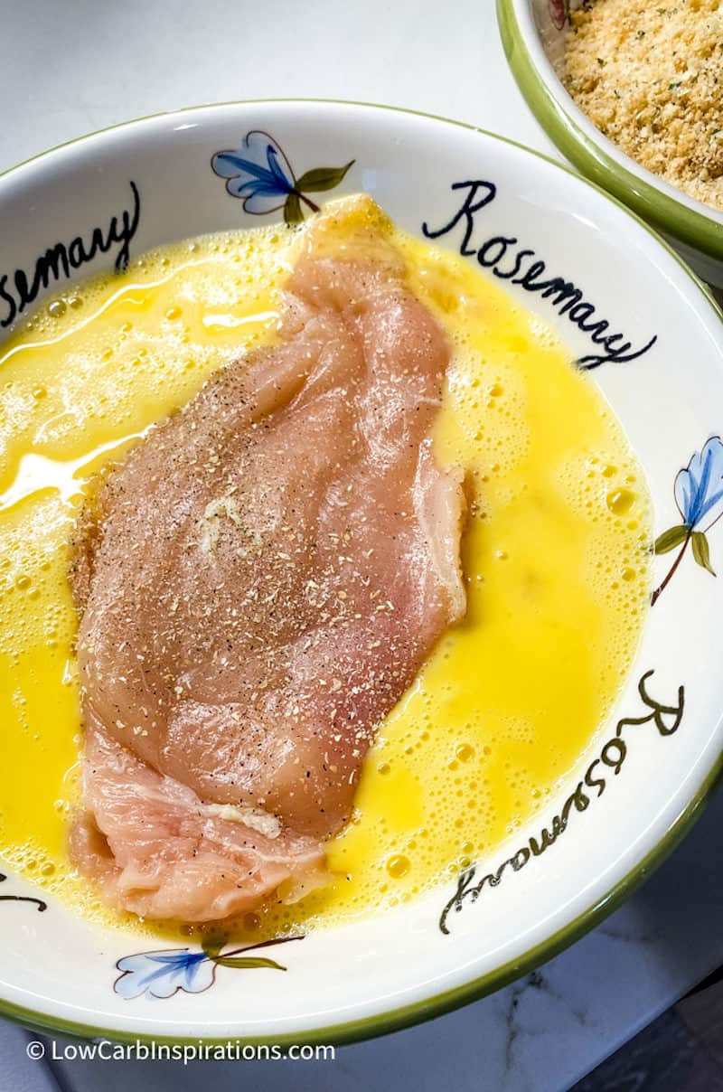 Egg wash for chicken parmesan recipe