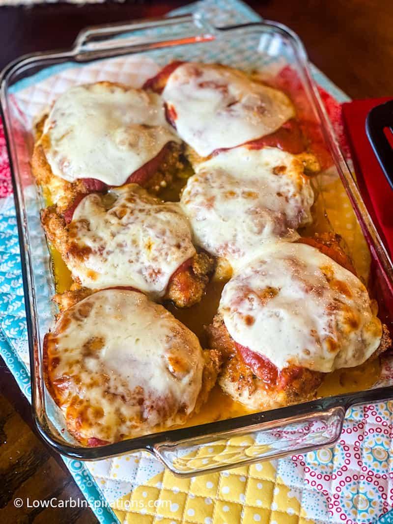 Easy Keto Chicken Parmesan Recipe