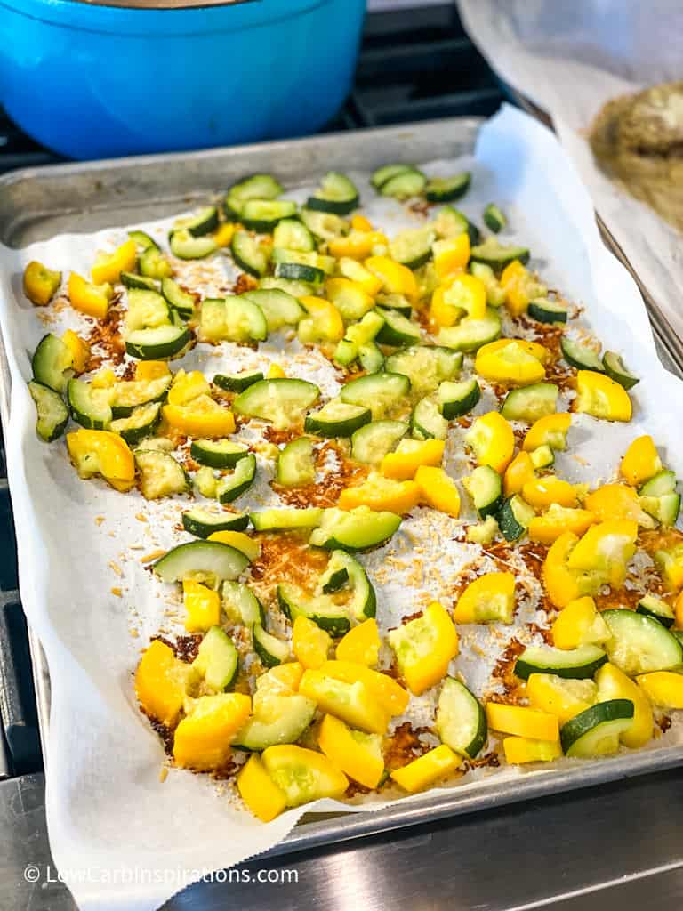 Sheet Pan Oven Roasted Vegetables Recipe