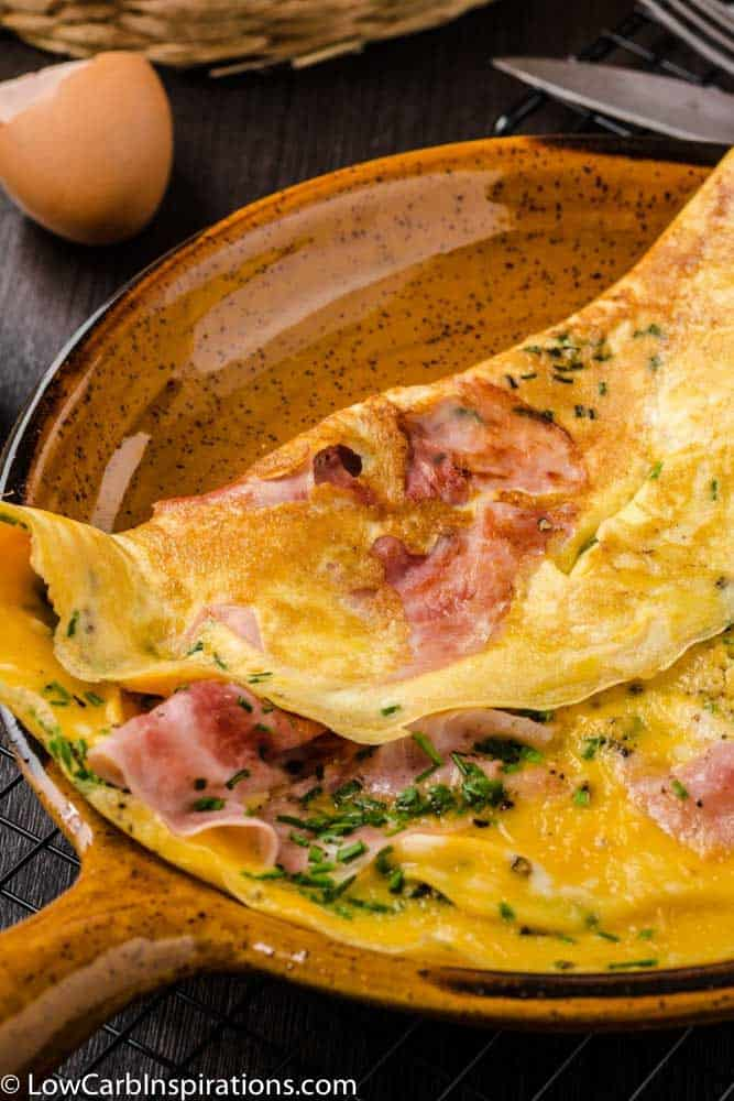 Ham and Cheese Omelette Recipe
