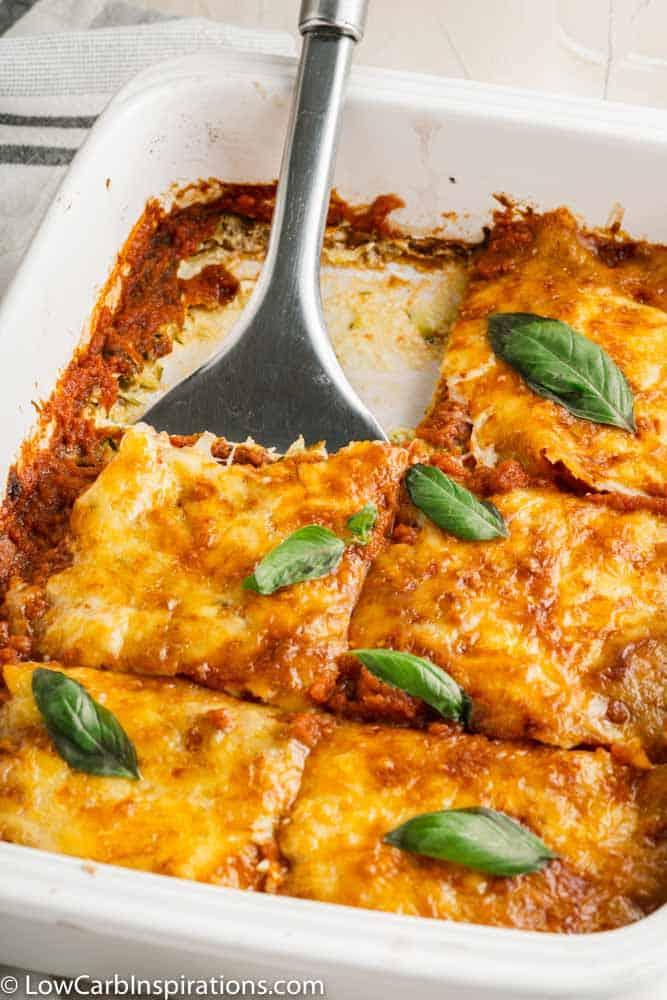 Keto Zucchini Pizza Casserole Recipe