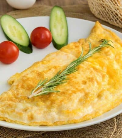 Turkey and Cheese Omellete Recipe